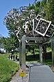 3D Fraktal 03-H-dd by Hartmut Skerbisch, Österreichischer Skulpturenpark 01.jpg