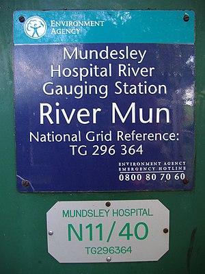 River Mun - River Mun Gauging Station