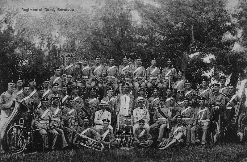 File:3rd Battalion The Royal Fusiliers band Bermuda ca 1903.jpg