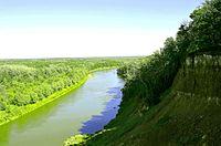 418. Novokhopersk. The Khopyor River in the Khopyor Reserve.jpg