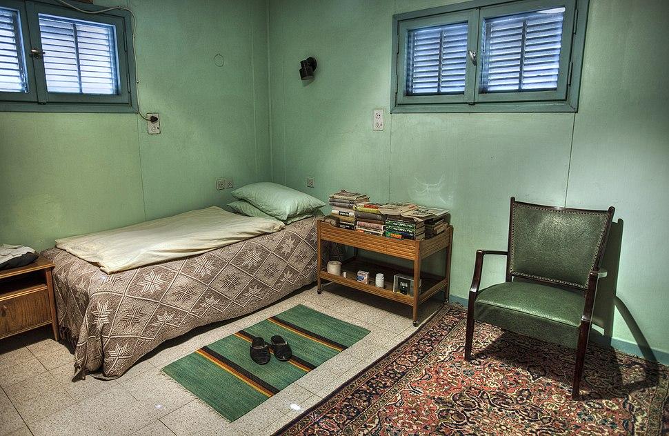 44444 חדרו של דוד בן גוריון בצריף בשדה בוקר