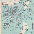 5,November,1954 Typhoon weather map.png