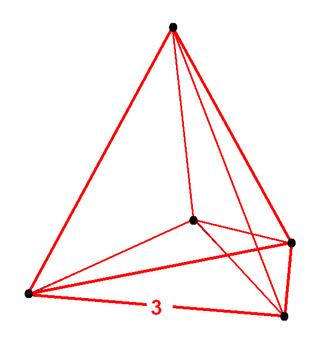 Uniform 5-polytope - Image: 5 simplex verf