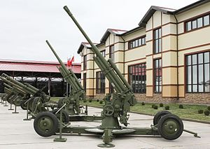 85 mm air defense gun M1939 (52-K) - Image: 52 К