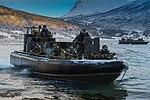 539 Assault Squadron performing a beach assault MOD 45159524.jpg