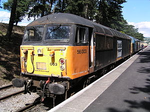 Loadhaul - Image: 56003 at Cheltenham Racecourse