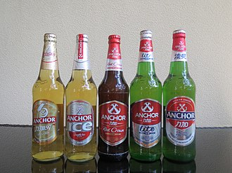 Heineken Asia Pacific - The five types of Anchor Beer available in Hainan Island, China