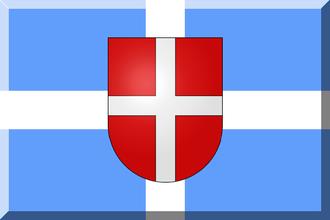 1912–13 Italian Football Championship - Image: 600px Azzurro con croce Bianca e scudo rosso crociato