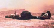 68th Fighter Squadron Northrop P-61 Black Widow 43-8237