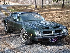 Pontiac Firebird - 1974 Pontiac Firebird Formula