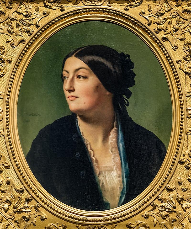 75 - Лувр - Жанна Элизабет, дочь Изабель Хитторф, 1853 - Ипполит Фландрин - Joconde000PE001141.jpg