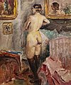 81 - Nu de dos - Luce Boyals - Huile sur toile - Musée du Pays rabastinois inv.2014.1.28.jpg