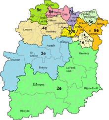 Carte Essonne Pdf.Liste Des Circonscriptions Legislatives De L Essonne Wikipedia