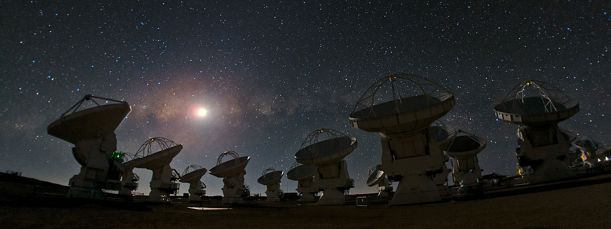 Atacama Large Millimeter Array - Wikipedia, la enciclopedia libre