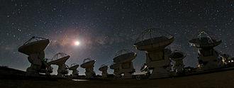Llano de Chajnantor Observatory - The Atacama Large Millimeter Array (ALMA)