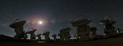 ALMA and a Starry Night