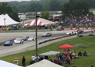 2013 ARCA Racing Series - ARCA field at the start of the SCOTT 160 at Road America