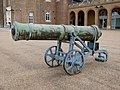 A Cannon to the North of the Royal Military Academy, Woolwich (I).jpg