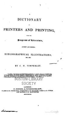 A dictionary of printers and printing.djvu