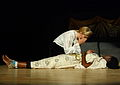 A dramatic performance at Michael Mount.JPG