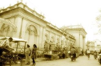 Panna, India - Image: A street near Baldau temple Panna
