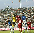 A view of ONGC Nehru Football Cup between India- Syria, in New Delhi on August 29, 2007.jpg
