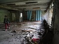 Abandoned Schoolhouse - Pripyat Ghost Town - Chernobyl Exclusion Zone - Northern Ukraine - 11 (26494106054).jpg