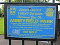 Abbeyfield Park sign, Merseyside.jpg