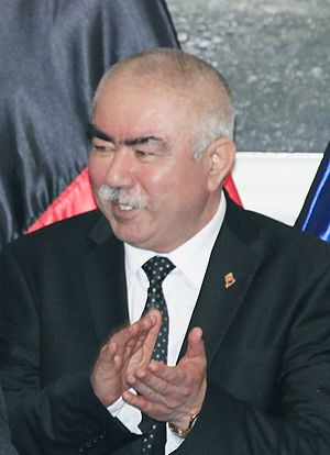 Afghan parliamentary election, 2005 - Image: Abdul Rashid Dostum in September 2014
