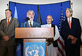 Abdullah Abdullah and Ashraf Ghani in a joint press conference hosted by UNAMA August 8, 2014.jpg