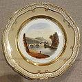 Aber Dillas Bridge, South Wales - Coalport Porcelain Factory, Shropshire, England, c. 1820-1830, porcelain - De Young Museum - DSC00910.JPG