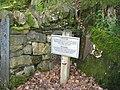 Aberglaslyn sign - geograph.org.uk - 1317790.jpg
