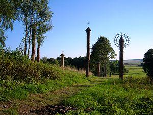 Ablinga - Wooden sculptures in Ablinga