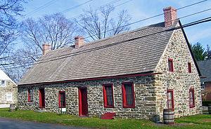 Huguenot Street Historic District - The Abraham (Daniel) Hasbrouck House