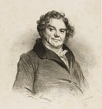 Les Misérables - Eugene Vidocq, whose career provided a model for the character of Jean Valjean