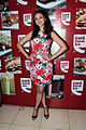 Aditi Rao Hydari at Cafe Coffee Day 06.jpg