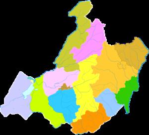 Hulunbuir - Image: Administrative Division Hulunbuir