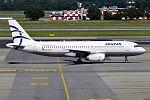 Aegean Airlines, SX-DVN, Airbus A320-232 (28356945682).jpg