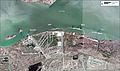 Aerial image of the Military Ocean Terminal Concord piers.jpg