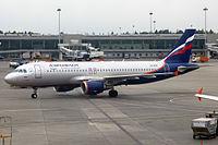 VQ-BCM - A320 - Aeroflot
