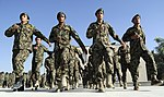 Afghan airmen perform morning drill before the start of duty at Pohantoon-e-Hawayee.jpg