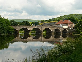 Builth Wells - Image: Afon Gwy River Wye geograph.org.uk 1376087