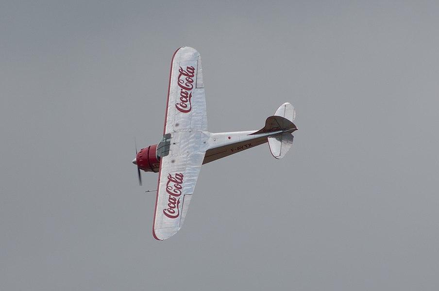 AirExpo 2014 - Cessna Coca-Cola