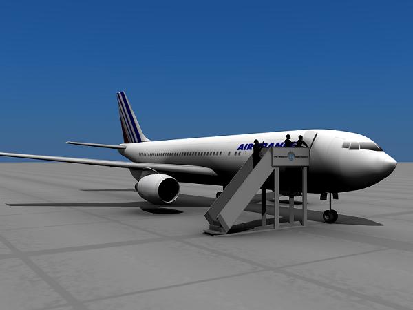 Air France Flight 8969