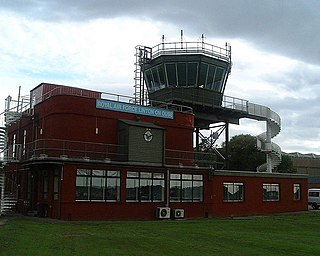 Royal Air Force training station in North Yorkshire, England