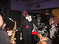 """Al """"Carnival Time"""" Johnson birthday at Mother in Law Lounge Al on Stage.jpg"""