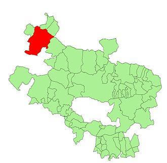 Aguíñiga - Image: Alava municipalities Ayala
