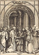 Albrecht Dürer, The Betrothal of the Virgin, c. 1504-1505, NGA 610.jpg