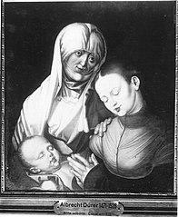 Anna selbdritt (Kopie nach dem Original in New York, ehemals München) (Kopie nach)