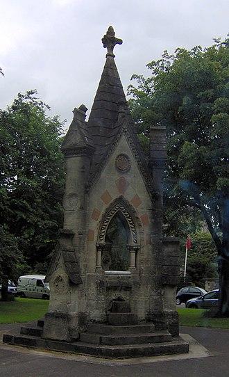 Grade II listed buildings in Bristol - Image: Aldermanproctersdrin kingfountain